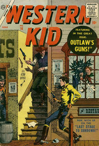 Cover Thumbnail for Western Kid (Marvel, 1954 series) #16