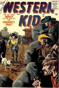 Cover Thumbnail for Western Kid (Marvel, 1954 series) #17