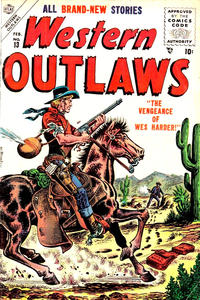 Cover Thumbnail for Western Outlaws (Marvel, 1954 series) #13