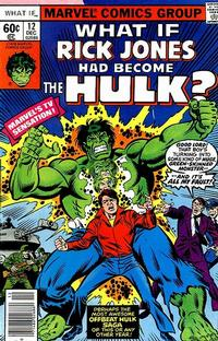 Cover Thumbnail for What If? (Marvel, 1977 series) #12