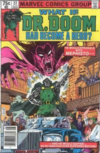 Cover Thumbnail for What If? (Marvel, 1977 series) #22 [Newsstand Edition]