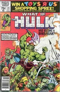 Cover Thumbnail for What If? (Marvel, 1977 series) #23 [Newsstand Edition]