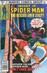 Cover Thumbnail for What If? (Marvel, 1977 series) #24 [Newsstand Edition]