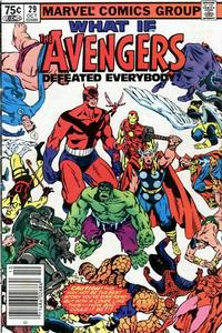 Cover Thumbnail for What If? (Marvel, 1977 series) #29 [Newsstand Edition]