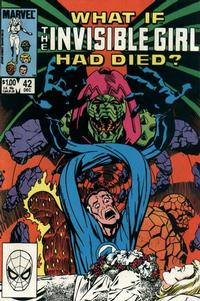 Cover Thumbnail for What If? (Marvel, 1977 series) #42 [Direct Edition]