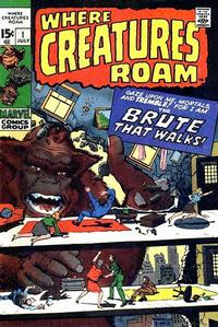 Cover Thumbnail for Where Creatures Roam (Marvel, 1970 series) #1