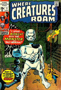Cover Thumbnail for Where Creatures Roam (Marvel, 1970 series) #2