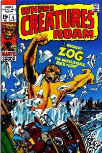 Cover Thumbnail for Where Creatures Roam (Marvel, 1970 series) #6