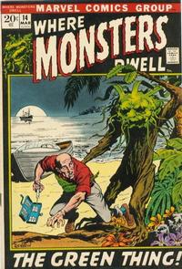 Cover Thumbnail for Where Monsters Dwell (Marvel, 1970 series) #14