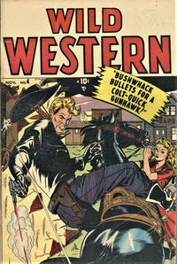 Cover for Wild Western (Marvel, 1948 series) #4