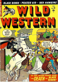 Cover Thumbnail for Wild Western (Marvel, 1948 series) #14