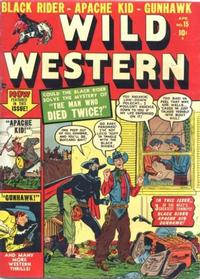 Cover Thumbnail for Wild Western (Marvel, 1948 series) #15
