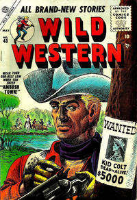 Cover Thumbnail for Wild Western (Marvel, 1948 series) #43