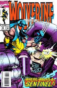 Cover Thumbnail for Wolverine (Marvel, 1988 series) #72 [Direct Edition]