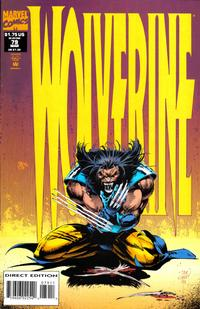 Cover Thumbnail for Wolverine (Marvel, 1988 series) #79 [Direct Edition]