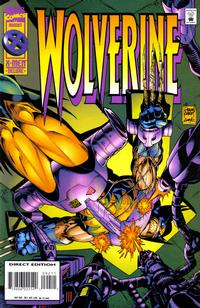 Cover Thumbnail for Wolverine (Marvel, 1988 series) #92 [Direct Edition]