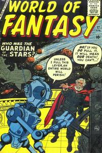 Cover Thumbnail for World of Fantasy (Marvel, 1956 series) #17