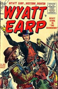 Cover Thumbnail for Wyatt Earp (Marvel, 1955 series) #3