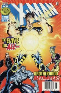 Cover Thumbnail for X-Man (Marvel, 1995 series) #28 [Newsstand Edition]