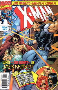 Cover for X-Man (Marvel, 1995 series) #32 [Direct Edition]