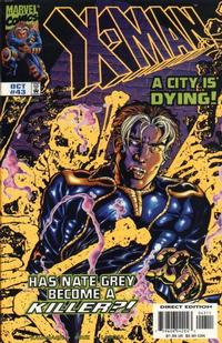 Cover Thumbnail for X-Man (Marvel, 1995 series) #43 [Direct Edition]