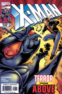 Cover for X-Man (Marvel, 1995 series) #49 [Direct Edition]