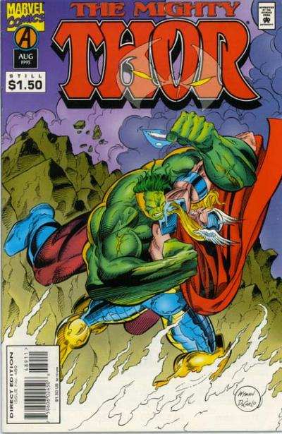 Cover for Thor (Marvel, 1966 series) #489
