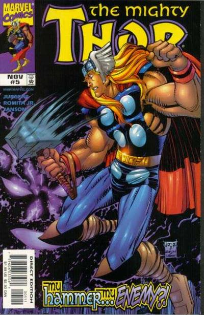 Cover for Thor (Marvel, 1998 series) #5
