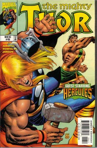 Cover for Thor (Marvel, 1998 series) #6