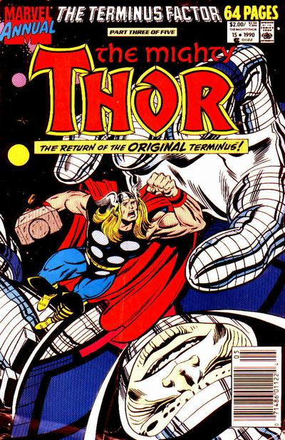 Cover for Thor Annual (Marvel, 1966 series) #15 [Direct]