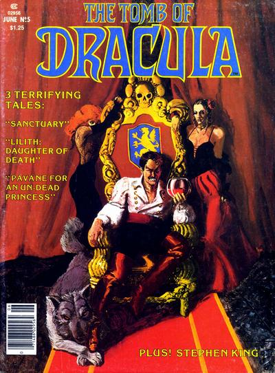 Cover for The Tomb of Dracula (1979 series) #5