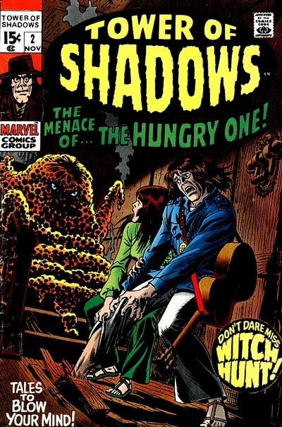Cover for Tower of Shadows (Marvel, 1969 series) #2