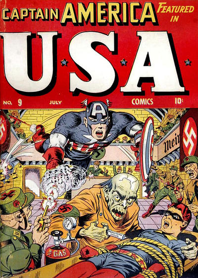 Cover for USA Comics (Marvel, 1941 series) #9
