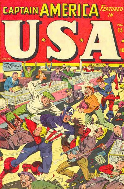 Cover for USA Comics (Marvel, 1941 series) #15