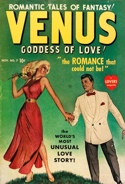 Cover for Venus (Marvel, 1948 series) #7
