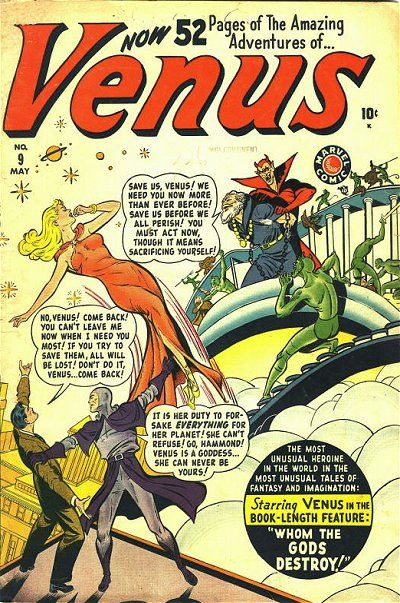 Cover for Venus (Marvel, 1948 series) #9