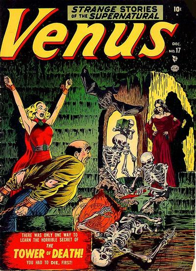 Cover for Venus (Marvel, 1948 series) #17