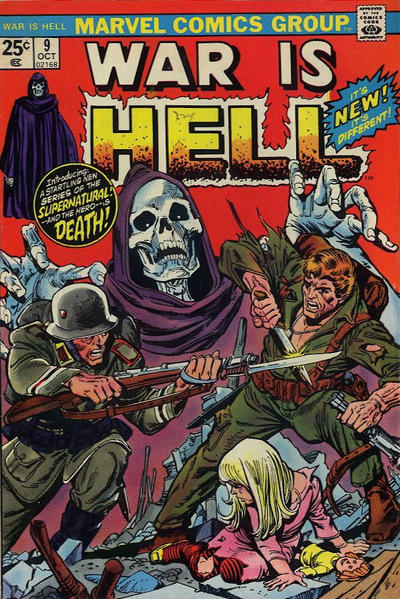 Cover for War Is Hell (Marvel, 1973 series) #9