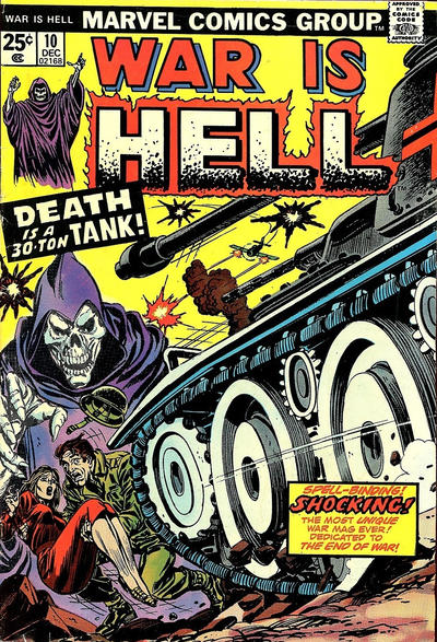Cover for War Is Hell (Marvel, 1973 series) #10
