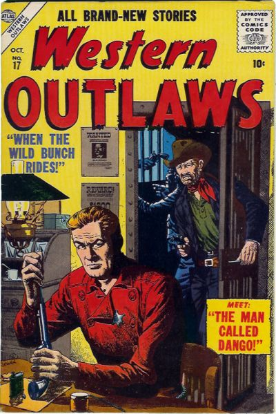 Cover for Western Outlaws (1954 series) #17