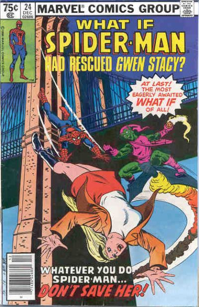 Cover for What If? (Marvel, 1977 series) #24 [Newsstand Edition]