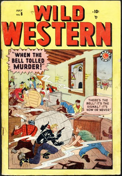 Cover for Wild Western (Marvel, 1948 series) #8