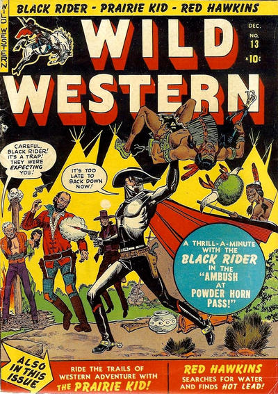 Cover for Wild Western (1948 series) #13