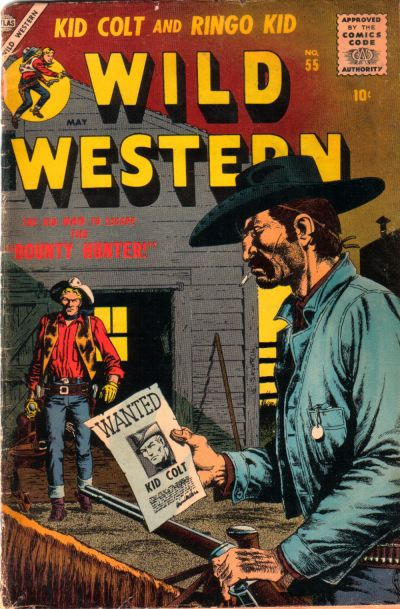 Cover for Wild Western (Marvel, 1948 series) #55