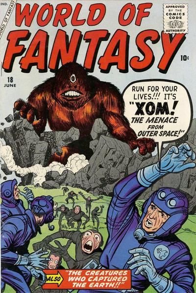 Cover for World of Fantasy (Marvel, 1956 series) #18