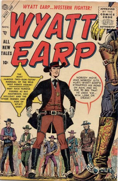 Cover for Wyatt Earp (Marvel, 1955 series) #1