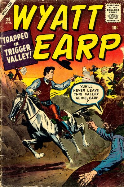 Cover for Wyatt Earp (Marvel, 1955 series) #28