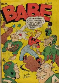 Cover Thumbnail for Babe (Prize, 1948 series) #v1#4 (4)