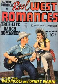 Cover Thumbnail for Real West Romances (Prize, 1949 series) #v1#1