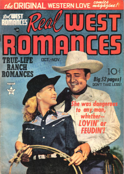 Cover for Real West Romances (1949 series) #v1#4